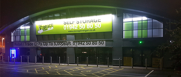 The Largest Self Storage Facility in Wigan